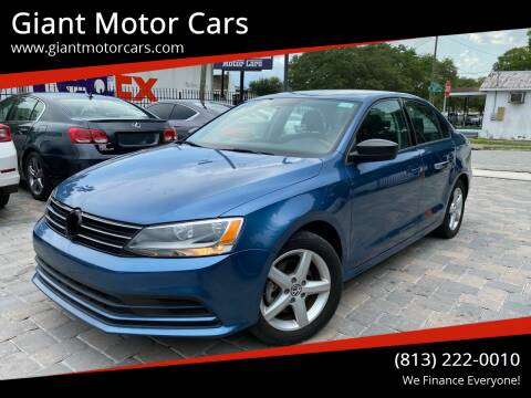 2016 Volkswagen Jetta for sale at Giant Motor Cars in Tampa FL