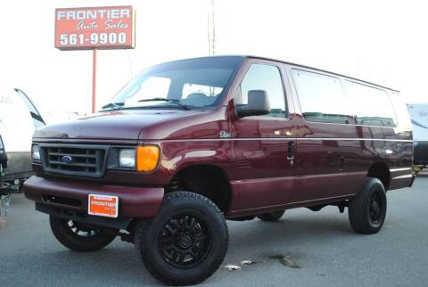 2006 Ford E-Series Wagon for sale at Frontier Auto & RV Sales in Anchorage AK