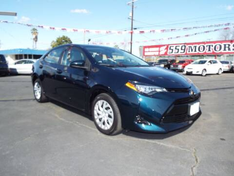2018 Toyota Corolla for sale at 559 Motors in Fresno CA