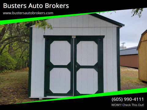 2021 Old Hickory Building 10 X 16 Utility Building for sale at Busters Auto Brokers in Mitchell SD