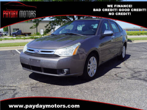 2011 Ford Focus for sale at Payday Motors in Wichita And Topeka KS