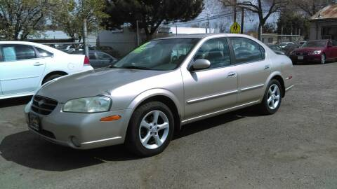 2001 Nissan Maxima for sale at Larry's Auto Sales Inc. in Fresno CA