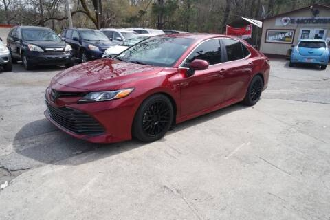 2019 Toyota Camry for sale at E-Motorworks in Roswell GA