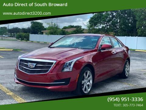 2015 Cadillac ATS for sale at Auto Direct of South Broward in Miramar FL