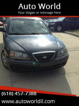 2006 Hyundai Elantra for sale at Auto World in Carbondale IL