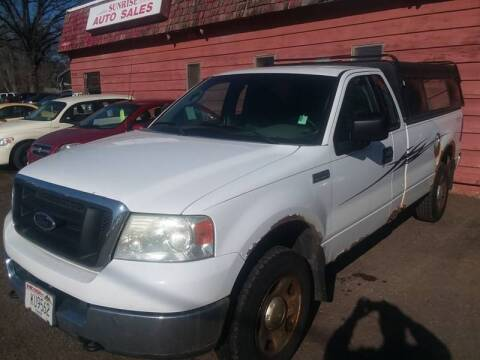 2004 Ford F-150 for sale at Sunrise Auto Sales in Stacy MN