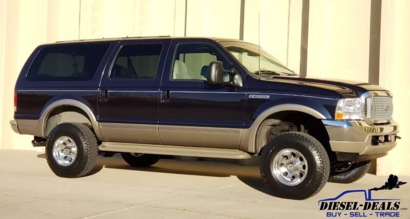 2001 Ford Excursion for sale at DIESEL DEALS in Salt Lake City UT