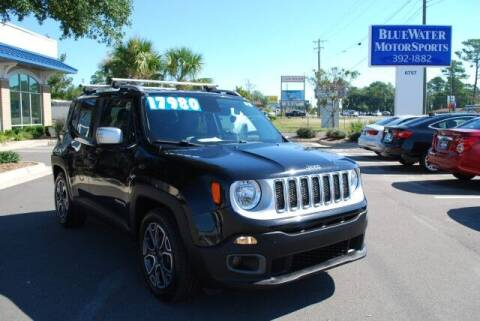 2015 Jeep Renegade for sale at BlueWater MotorSports in Wilmington NC