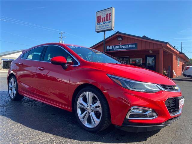 2017 Chevrolet Cruze for sale at HUFF AUTO GROUP in Jackson MI