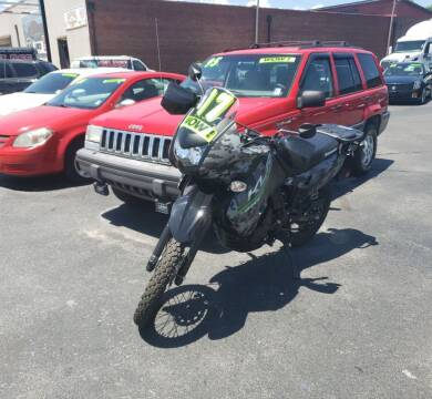 2017 Kawasaki KL 650 for sale at Blue Bird Motors in Crossville TN