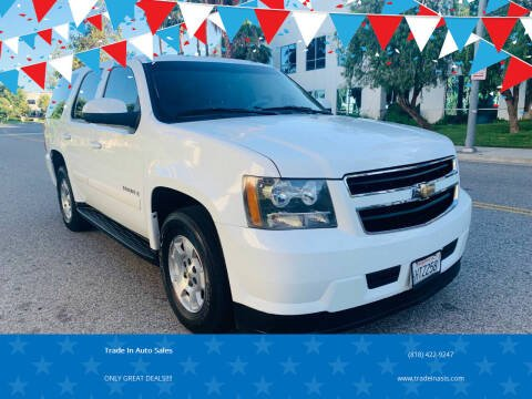 2009 Chevrolet Tahoe for sale at Trade In Auto Sales in Van Nuys CA