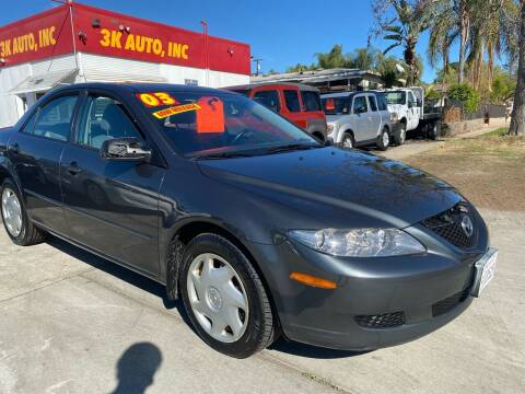 2003 Mazda MAZDA6 for sale at 3K Auto in Escondido CA