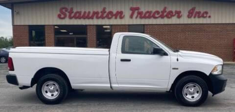 2015 RAM Ram Pickup 1500 for sale at STAUNTON TRACTOR INC in Staunton VA