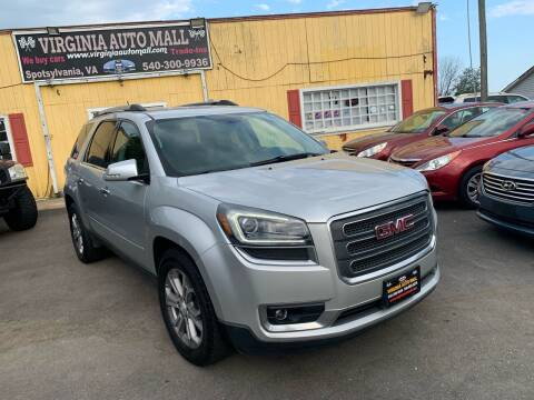 2014 GMC Acadia for sale at Virginia Auto Mall in Woodford VA