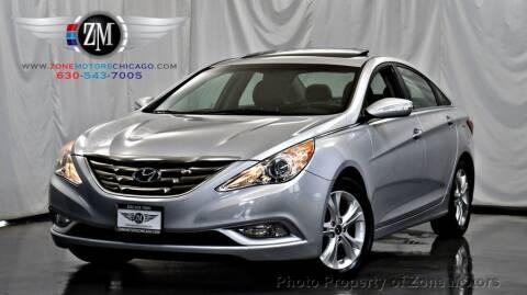 2011 Hyundai Sonata for sale at ZONE MOTORS in Addison IL
