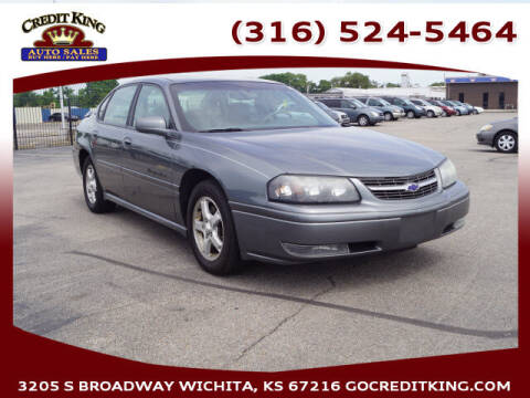 2004 Chevrolet Impala for sale at Credit King Auto Sales in Wichita KS