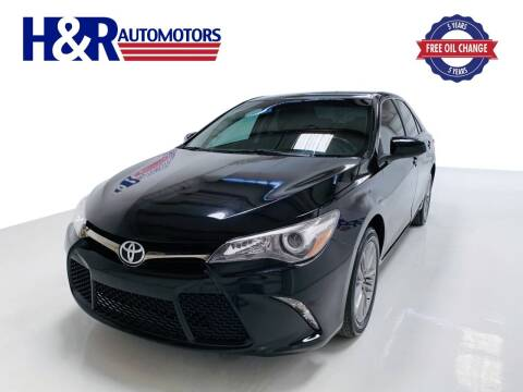2017 Toyota Camry for sale at H&R Auto Motors in San Antonio TX