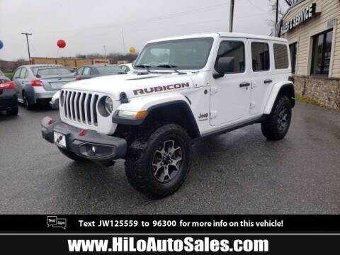 2018 Jeep Wrangler Unlimited for sale at Hi-Lo Auto Sales in Frederick MD