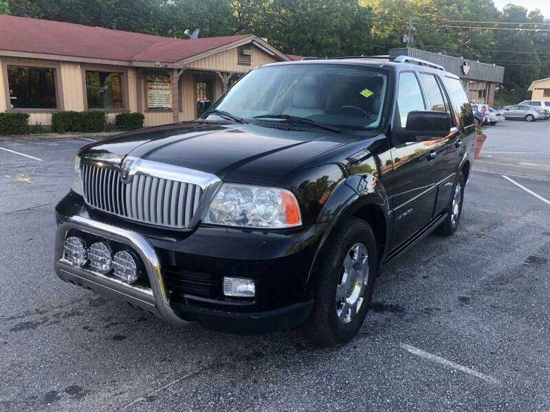 2006 Lincoln Navigator for sale at ATLANTA AUTO WAY in Duluth GA