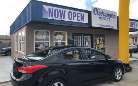 2012 Hyundai Elantra for sale at Claremore Motor Company in Claremore OK