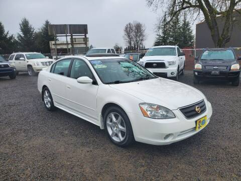 2003 Nissan Altima for sale at McMinnville Auto Sales LLC in Mcminnville OR