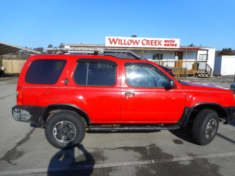 2000 Nissan Xterra for sale at Willow Creek Auto Sales in Knoxville TN