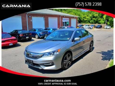 2017 Honda Accord for sale at CARMANIA LLC in Chesapeake VA
