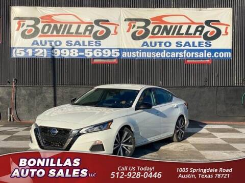 2020 Nissan Altima for sale at Bonillas Auto Sales in Austin TX