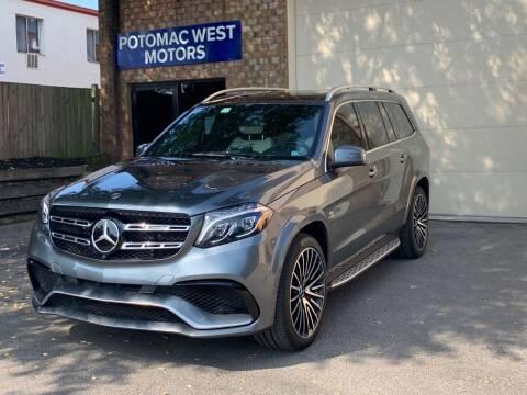2018 Mercedes-Benz GLS for sale at POTOMAC WEST MOTORS in Springfield VA