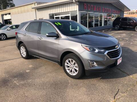 2018 Chevrolet Equinox for sale at ROTMAN MOTOR CO in Maquoketa IA