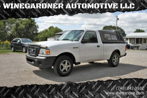 2006 Ford Ranger for sale at WINEGARDNER AUTOMOTIVE LLC in New Lexington OH