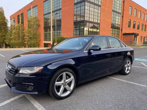 2011 Audi A4 for sale at Auto Wholesalers Of Rockville in Rockville MD