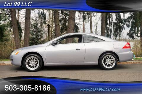 2005 Honda Accord for sale at LOT 99 LLC in Milwaukie OR