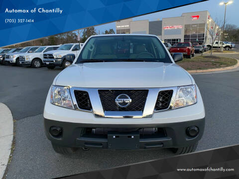 2019 Nissan Frontier for sale at Automax of Chantilly in Chantilly VA