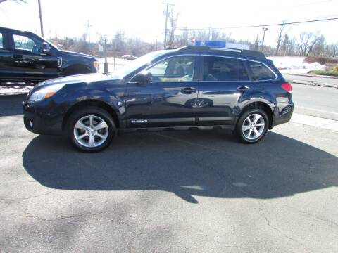 2014 Subaru Outback for sale at Nutmeg Auto Wholesalers Inc in East Hartford CT