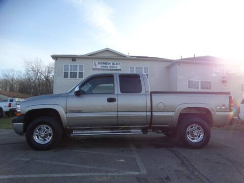 2001 Chevrolet Silverado 2500HD for sale at SOUTHERN SELECT AUTO SALES in Medina OH