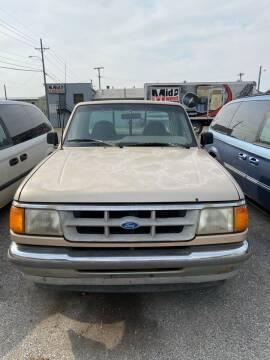 1994 Ford Ranger for sale at New Start Motors LLC - Crawfordsville in Crawfordsville IN