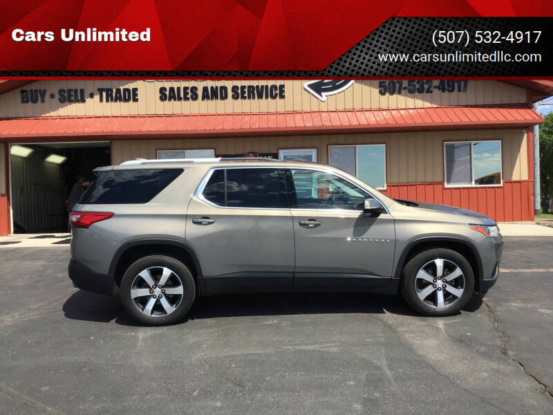 2018 Chevrolet Traverse for sale at Cars Unlimited in Marshall MN