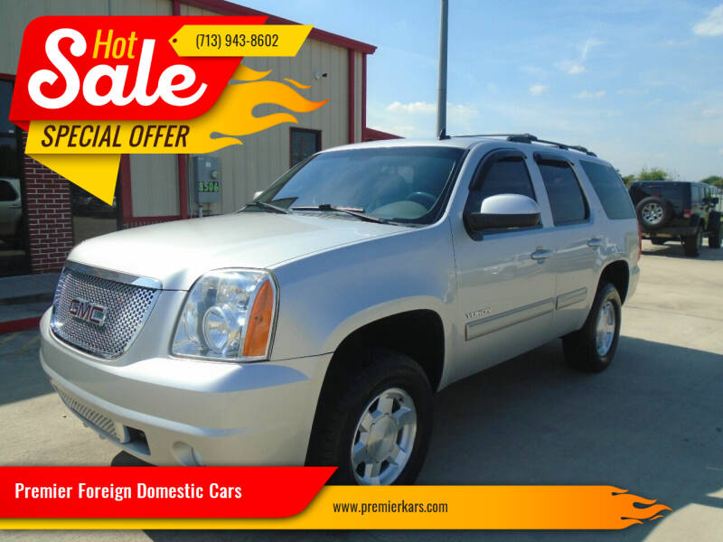 2011 GMC Yukon for sale at Premier Foreign Domestic Cars in Houston TX