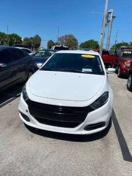 2015 Dodge Dart for sale at DAN'S DEALS ON WHEELS in Davie FL