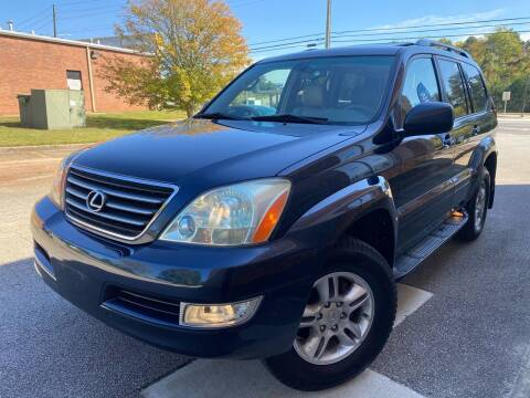 2004 Lexus GX 470 for sale at Gwinnett Luxury Motors in Buford GA