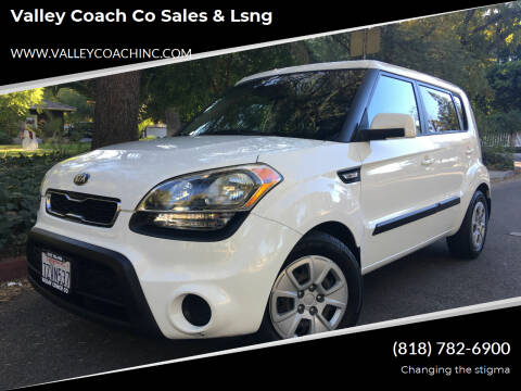 2013 Kia Soul for sale at Valley Coach Co Sales & Lsng in Van Nuys CA