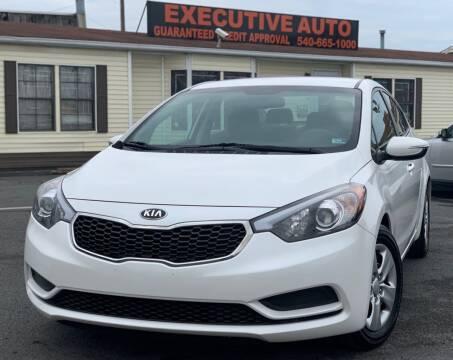 2015 Kia Forte for sale at Executive Auto in Winchester VA