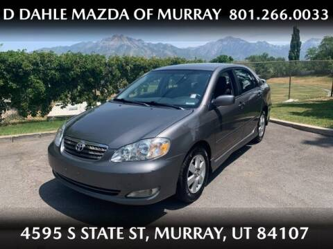 2007 Toyota Corolla for sale at D DAHLE MAZDA OF MURRAY in Salt Lake City UT