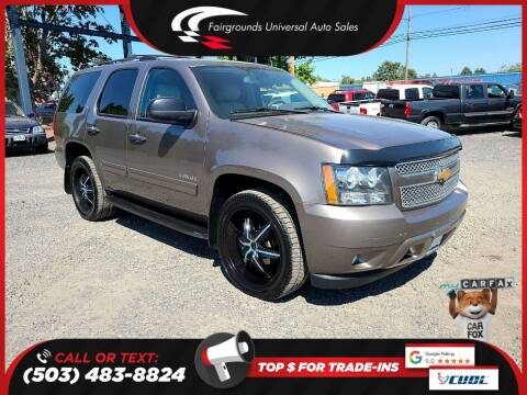 2012 Chevrolet Tahoe for sale at Universal Auto Sales in Salem OR