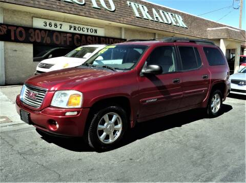 2002 GMC Envoy XL for sale at DESERT AUTO TRADER in Las Vegas NV