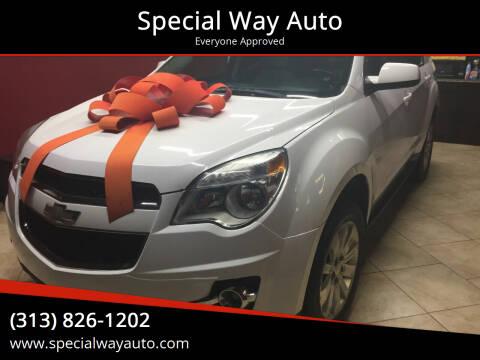 2010 Chevrolet Equinox for sale at Special Way Auto in Hamtramck MI