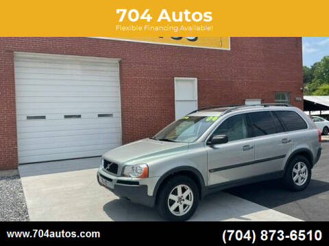 2004 Volvo XC90 for sale at 704 Autos in Statesville NC