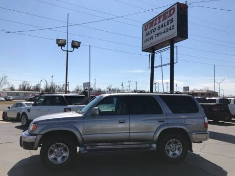 2001 Toyota 4Runner for sale at United Auto Sales in Oklahoma City OK