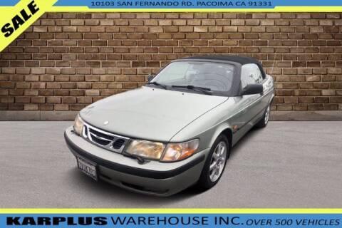 2000 Saab 9-3 for sale at Karplus Warehouse in Pacoima CA